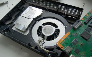 Как разобрать и почистить sony playstation 3 slim