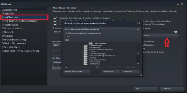 Как загрузить скриншоты в steam