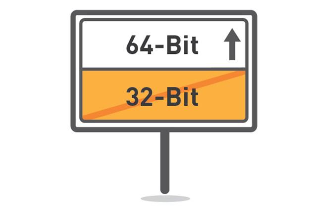 Как 32-битную систему сделать 64-битной