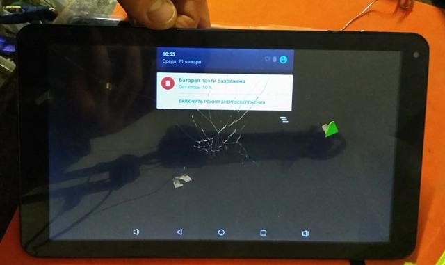 Как заменить экран на планшете