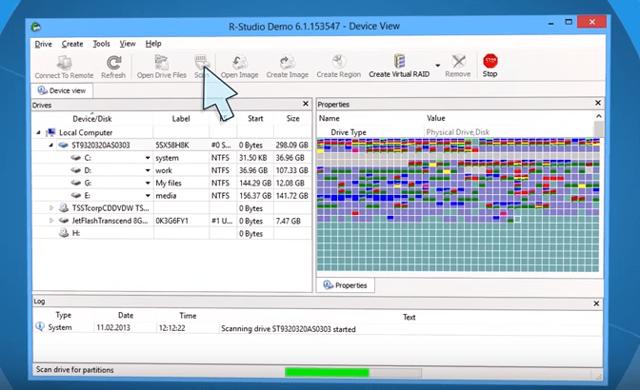 Как делается восстановление данных с жёсткого диска