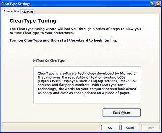 Как включить и настроить cleartype в windows