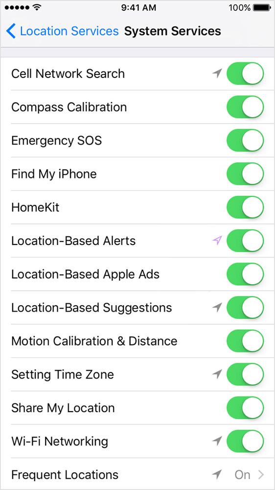 Как включить или отключить геолокацию на iphone