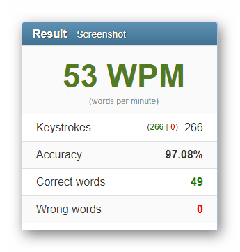 Как проверить скорость печати на клавиатуре