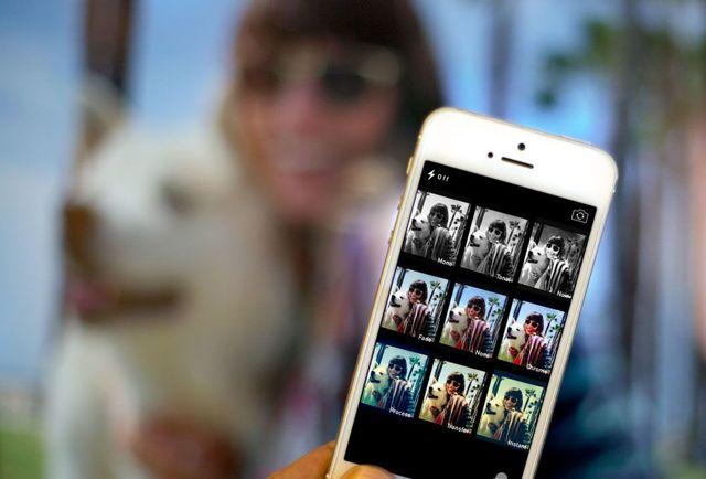 Как настроить камеру на iphone