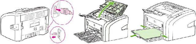 Как установить и настроить hp laserjet 1018