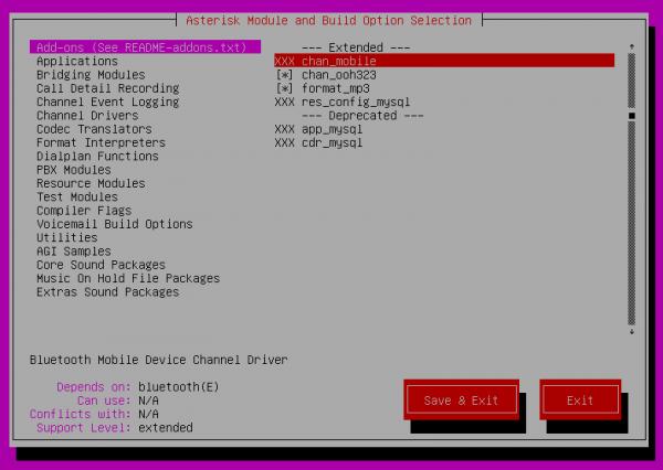 Как установить и настроить asterisk в ubuntu