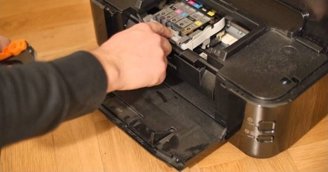 Как почистить печатающую головку принтера canon