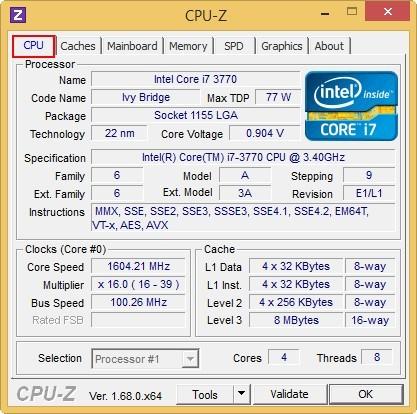 Как узнать характеристики своего компьютера