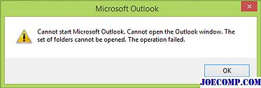 Как исправить ошибки с запуском microsoft office outlook