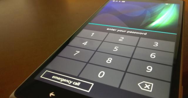 Как поставить пароль на windows phone