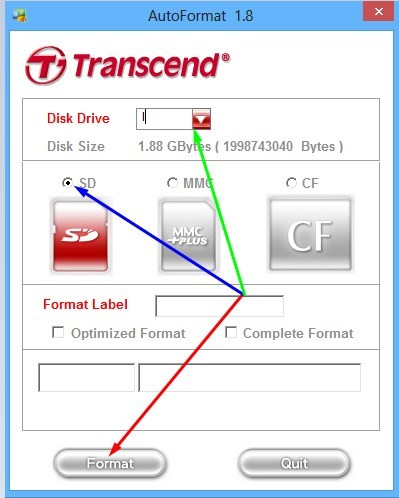 Как снять защиту и отформатировать карту памяти sd