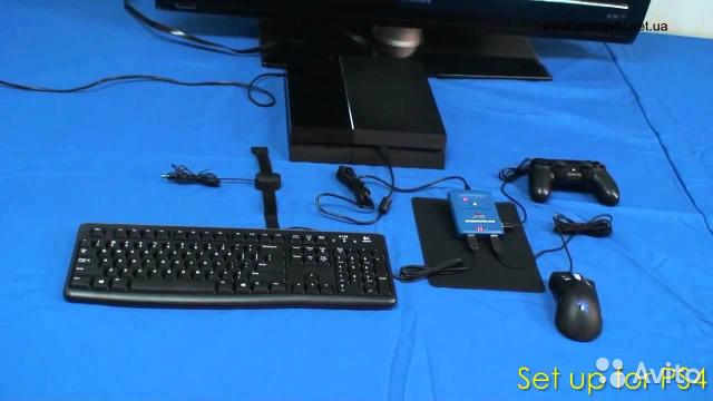 Как подключить клавиатуру и мышь к ps3