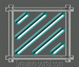Как сделать или удалить штриховку в Автокаде