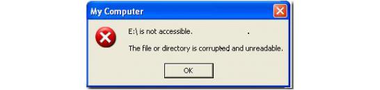 Как вытащить файлы с повреждённой флешки