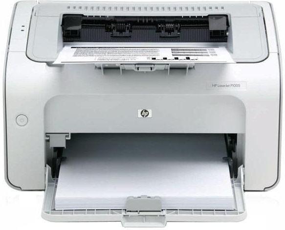 Как установить и настроить принтер hp laserjet p1005