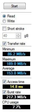 Как узнать скорость жёсткого диска