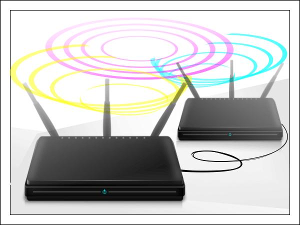 Как соединить два роутера в одной сети