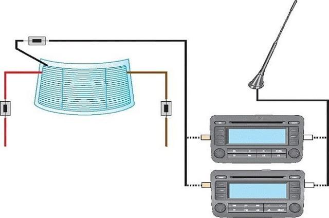 Как сделать антенну для магнитолы своими руками
