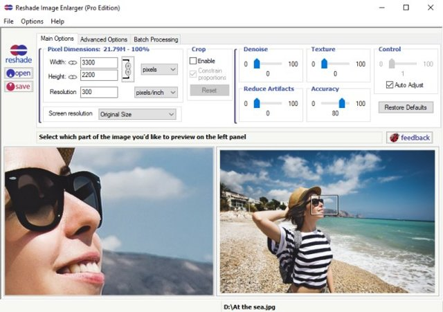 Лучшие программы для уменьшения или увеличения фотографий без потери качества