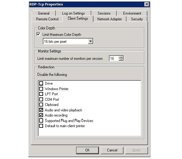 Что делать, если не работает буфер обмена у rdp клиентов
