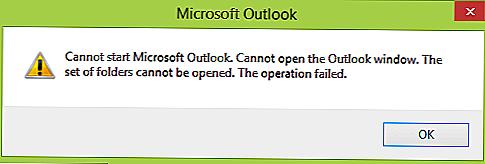 Как исправить ошибку microsoft outlook «Невозможно открыть набор папок»