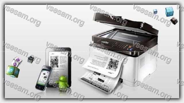 Как распечатать на принтере файл с телефона