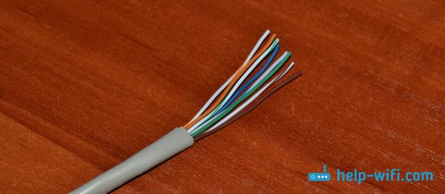 Как обжать кабель для интернета в домашних условиях