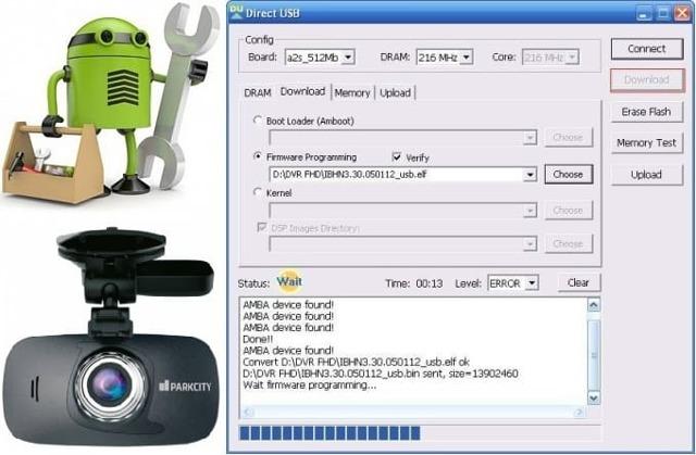 Как прошить или перепрошить видеорегистратор