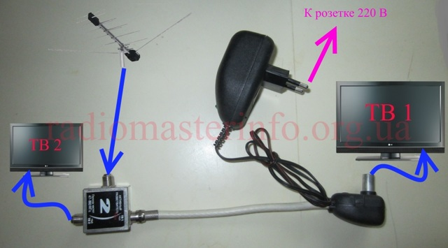 Как подключить несколько телевизоров к одной антенне