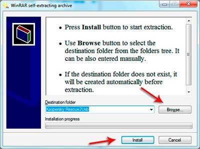 Как создать загрузочную флешку с портативным антивирусом