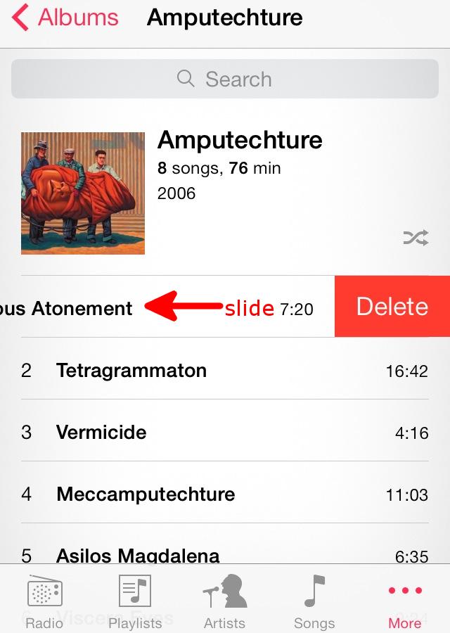 Как скинуть или удалить музыку с iphone