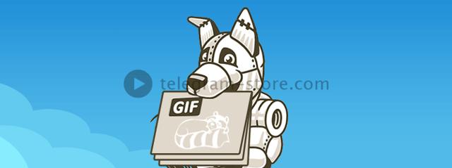 Как пользоваться gif-анимацией в telegram