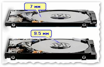 Какой жёсткий диск выбрать для ноутбука