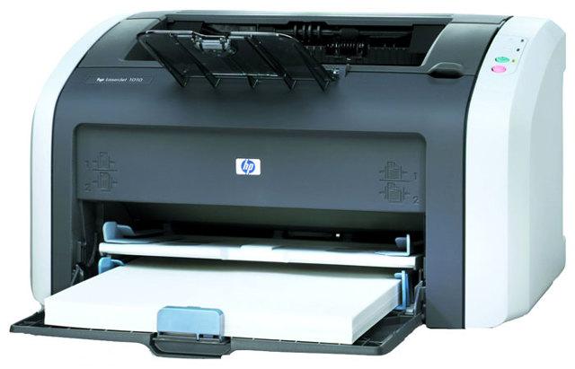 Как установить принтер hp laserjet 1010