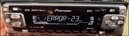 Как устранить ошибку 23 на магнитоле Пионер с флешкой