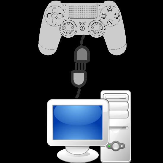 Как подключить джойстик от ps1 к компьютеру