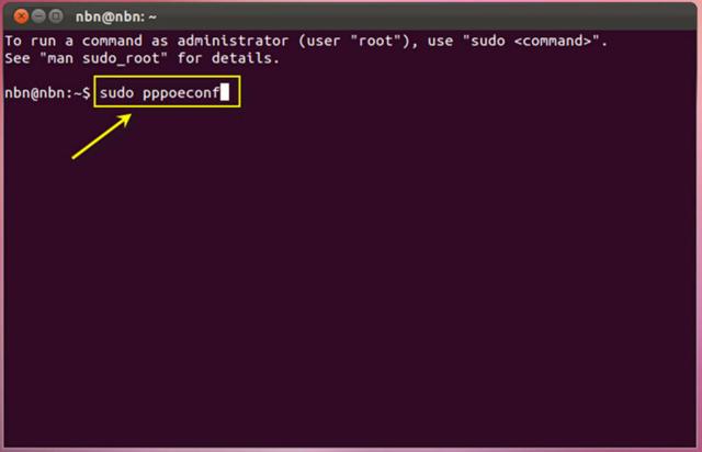 Как настроить соединения pppoe в ubuntu