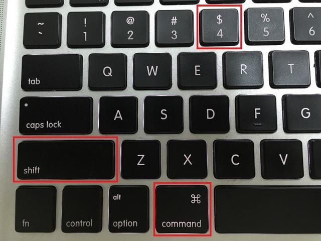 Как сделать снимок экрана в mac os