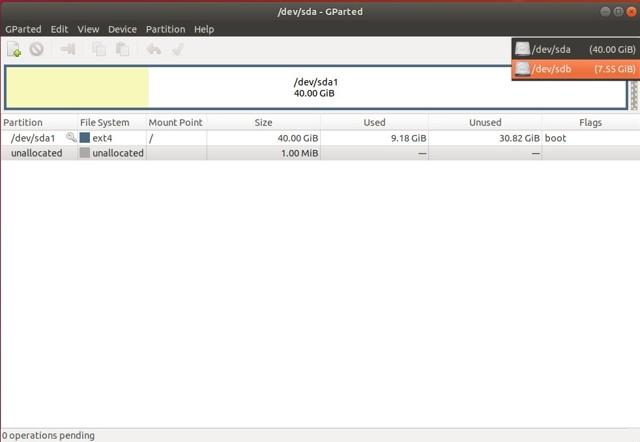 Как отформатировать флешку в linux