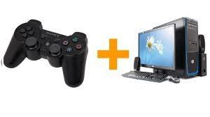 Как подключить джойстик от ps2 к компьютеру