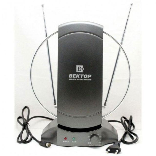 Как выбрать комнатную антенну для телевизора