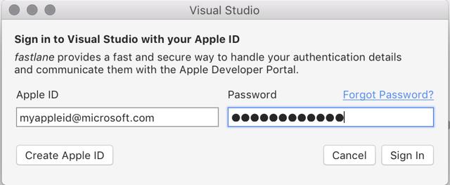 Управление учётными записями на macbook