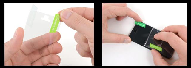 Как наклеить защитную плёнку на iphone