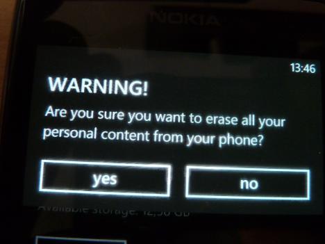 Как поменять учётную запись на windows phone
