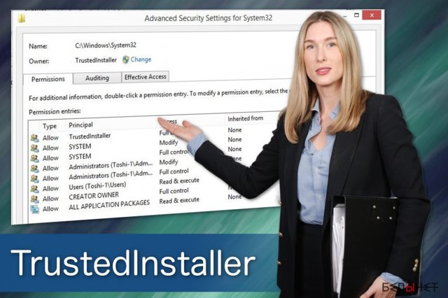 Что такое trustedinstaller и как его отключить