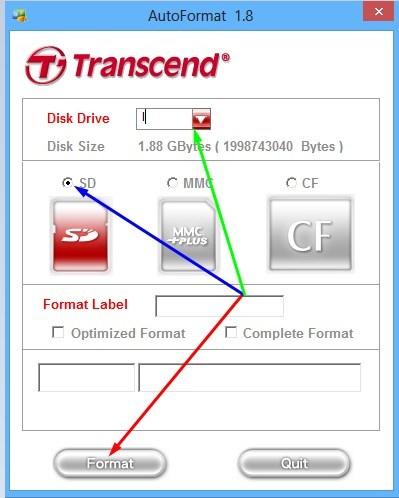 Как очистить карту памяти видеорегистратора