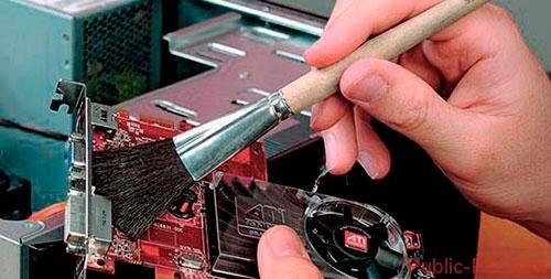 Что делать, если на компьютере сильно греется видеокарта