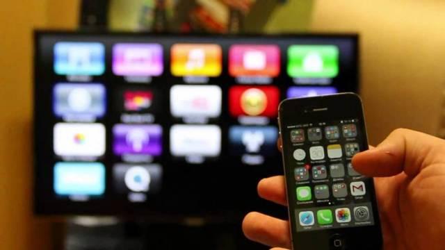 Как подключить iphone к телевизору