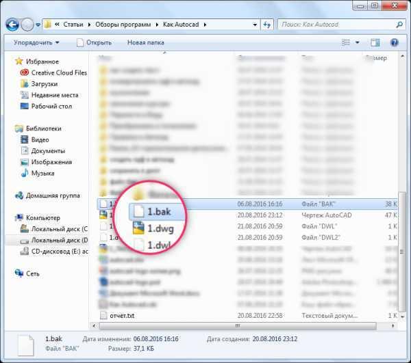 Как и чем открыть файл bak
